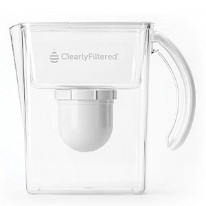 Clearly Filtered Water Pitcher 8 cups