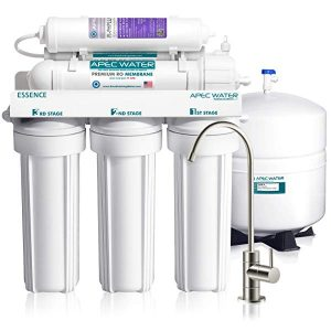 APEC Top Tier Alkaline Mineral 6-Stage Reverse Osmosis Drinking Water Filter System – Top Rated Reverse Osmosis System