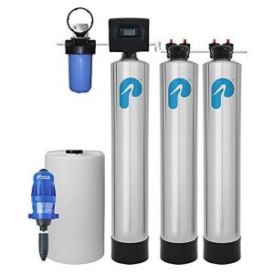Iron/Manganese Whole House Water Filter & Salt-Free Softener – 5-Stage Water Softening System