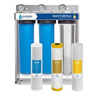 Express Water heavy metal filter for homes